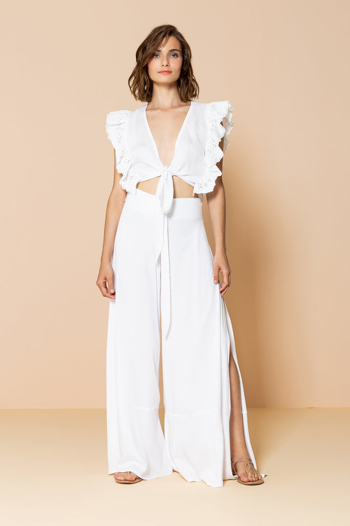 Pant Diana Off White