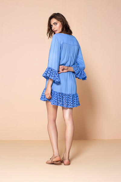 Dress Yasmin Blue Sky