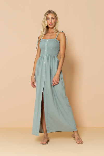 Long Dress Lauren Soft Green