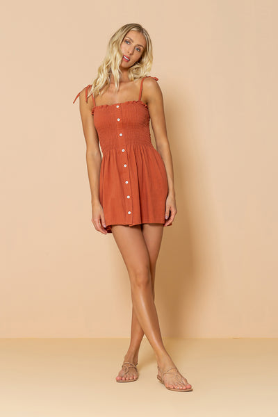 Dress Lauren Terracota