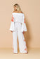 Long Jumpsuit Rachel White