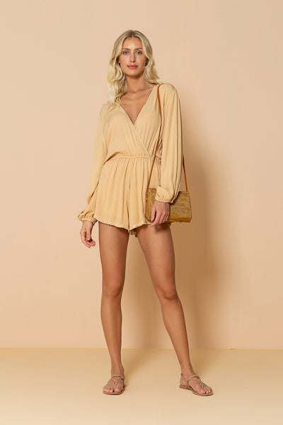 Jumpsuit Seashell Yellow Sand