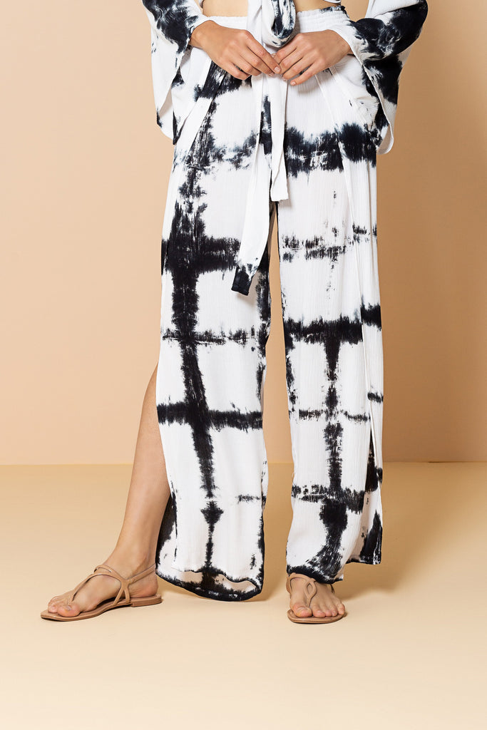 Pant By The Sea Tie Dye Black