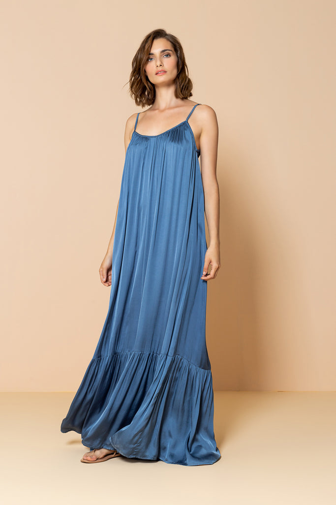 Long Dress Antônia Blue Ocean