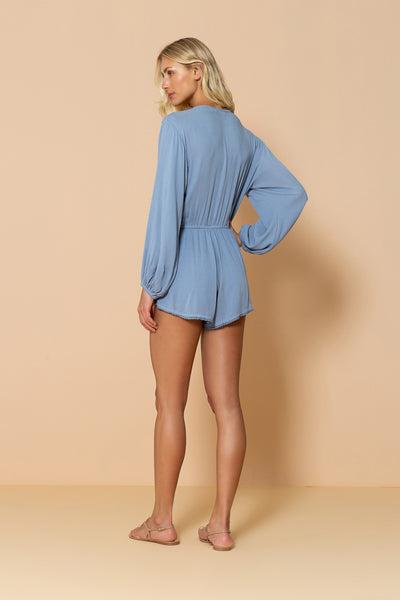 Jumpsuit Seashell Blue Ice