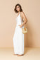Long Jumpsuit Victória Off White