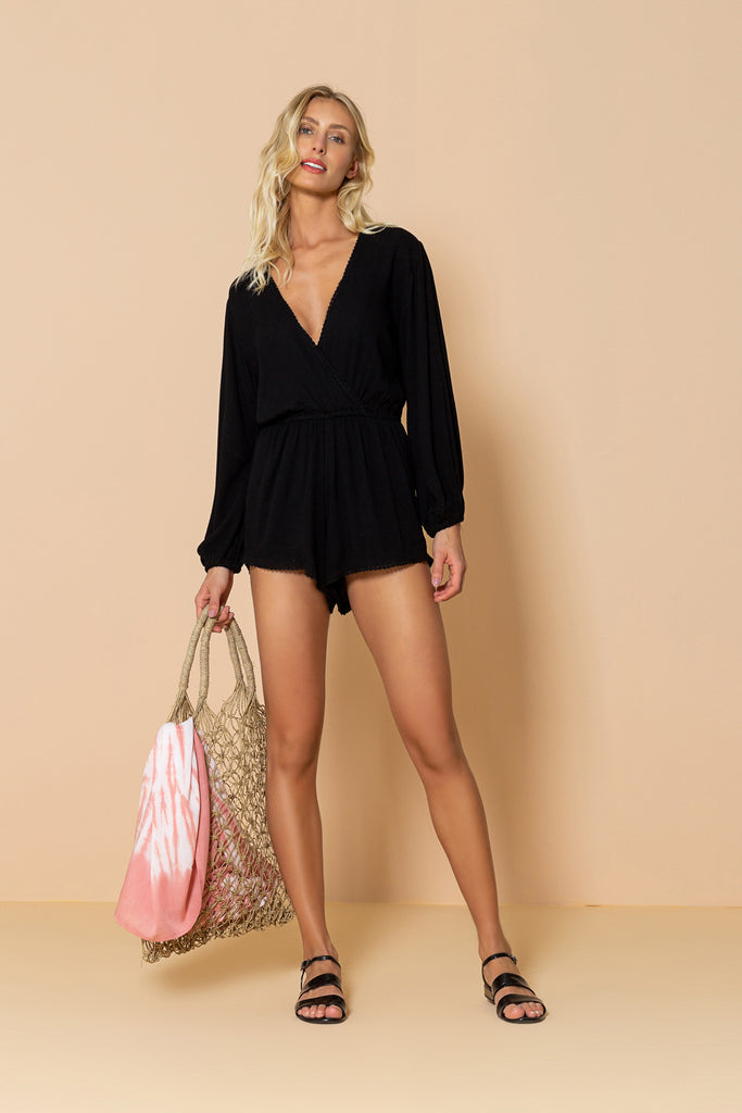 Jumpsuit Seashell Black