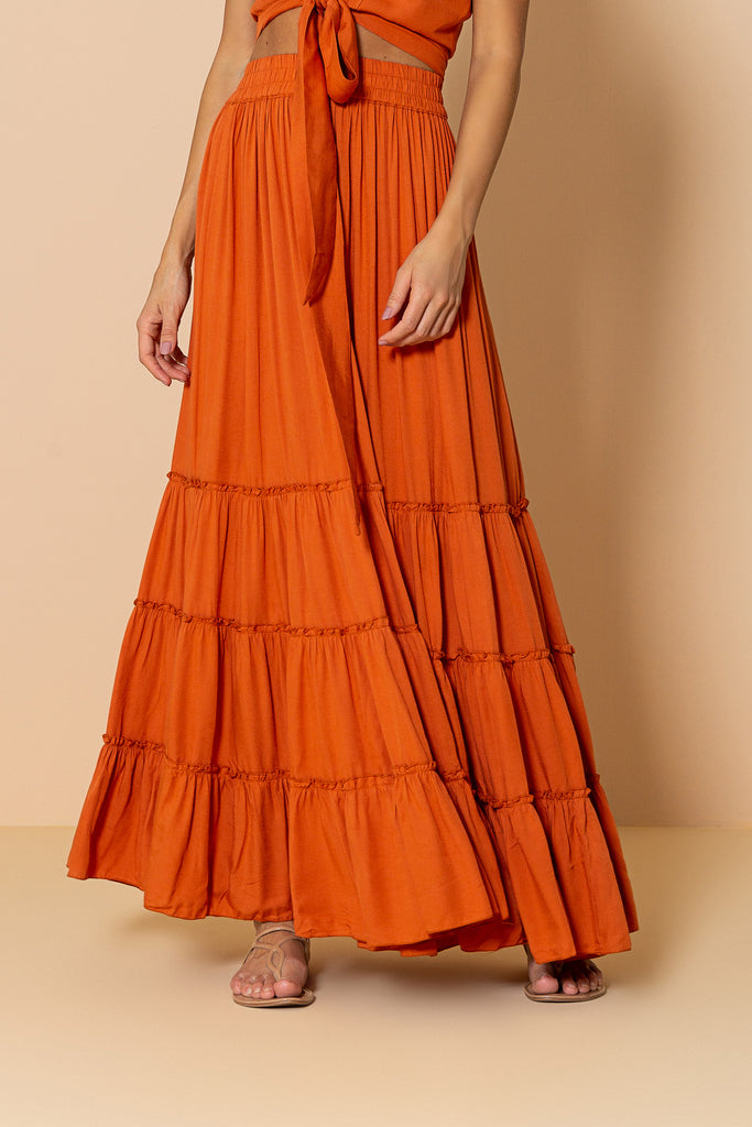 Skirt Mirage Orange Tile