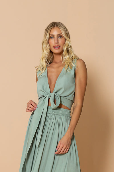 Top Mirage Soft Green