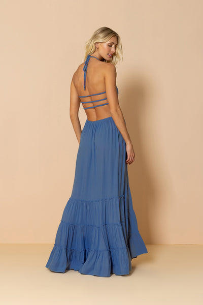 Long Dress Mirage Blue Ocean