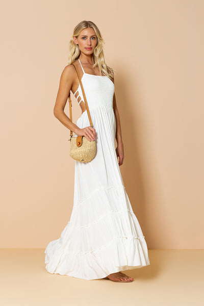Long Dress Mirage Offwhite
