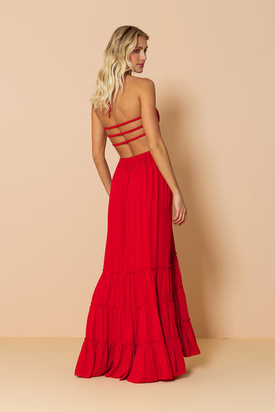 Long Dress Mirage Cherry