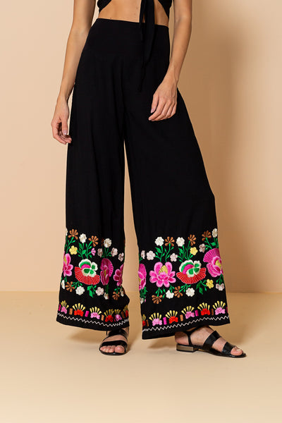 Pant Tropical Black