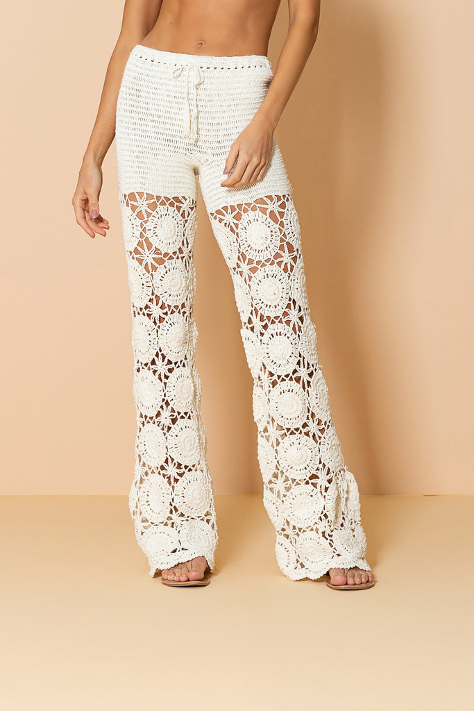 Pant Croxy Off White