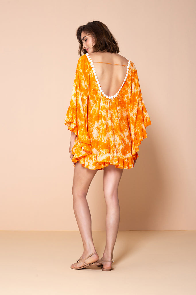 Tunic Phuket Tie Dye Orange