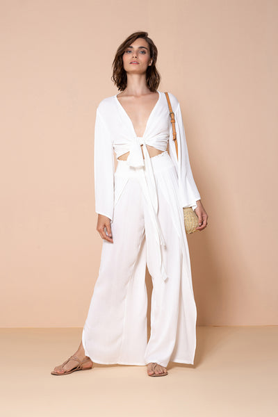 Pant By The Sea Off White