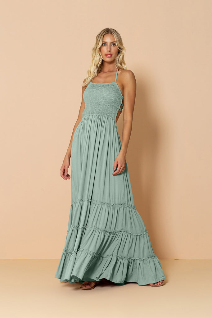 Long Dress Mirage Soft Green