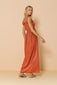 Long Dress Lauren Terracota