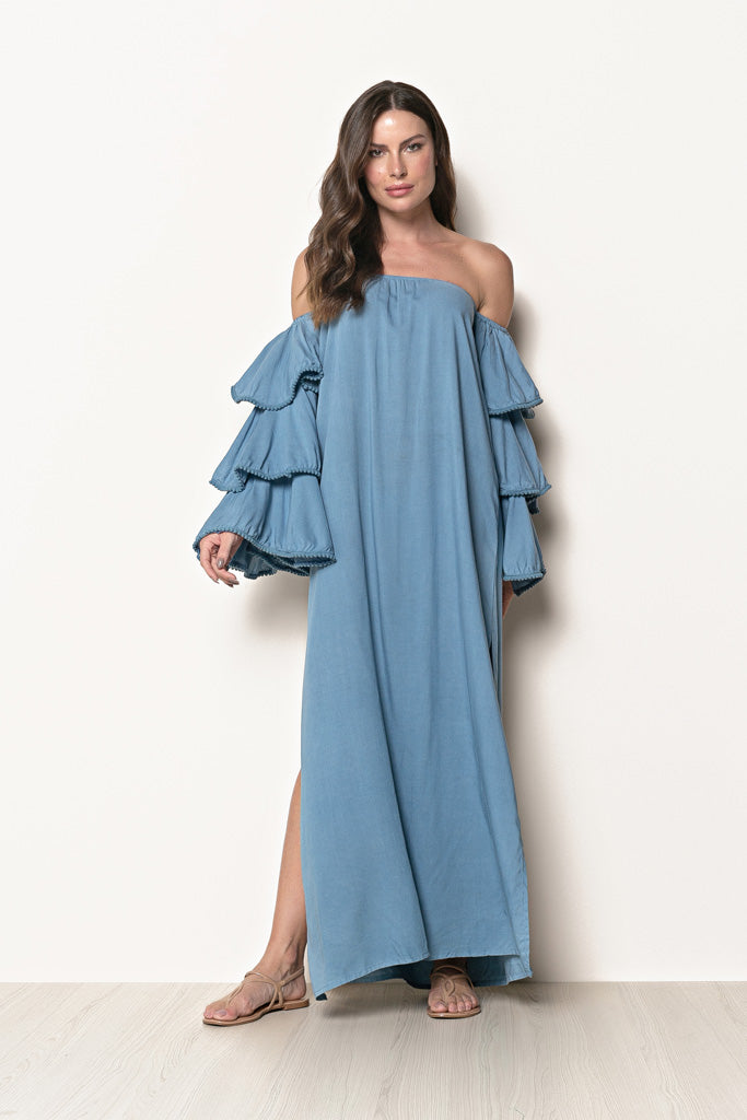 Long Dress Louise Classic Blue