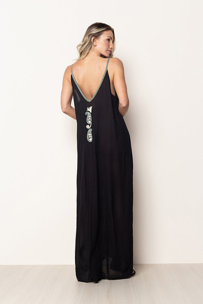 Long Dress Naomi Black