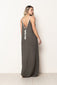 Long Dress Naomi Dark Green