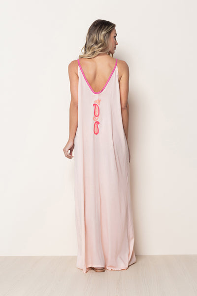 Long Dress Naomi Light Pink
