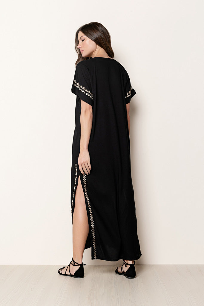 Long Dress Tess Black
