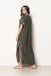Long Dress Tess Dark Green