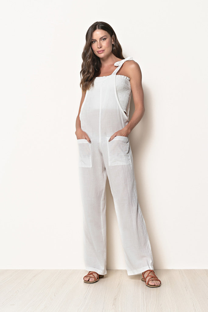 Long Jumpsuit Emilly Off White