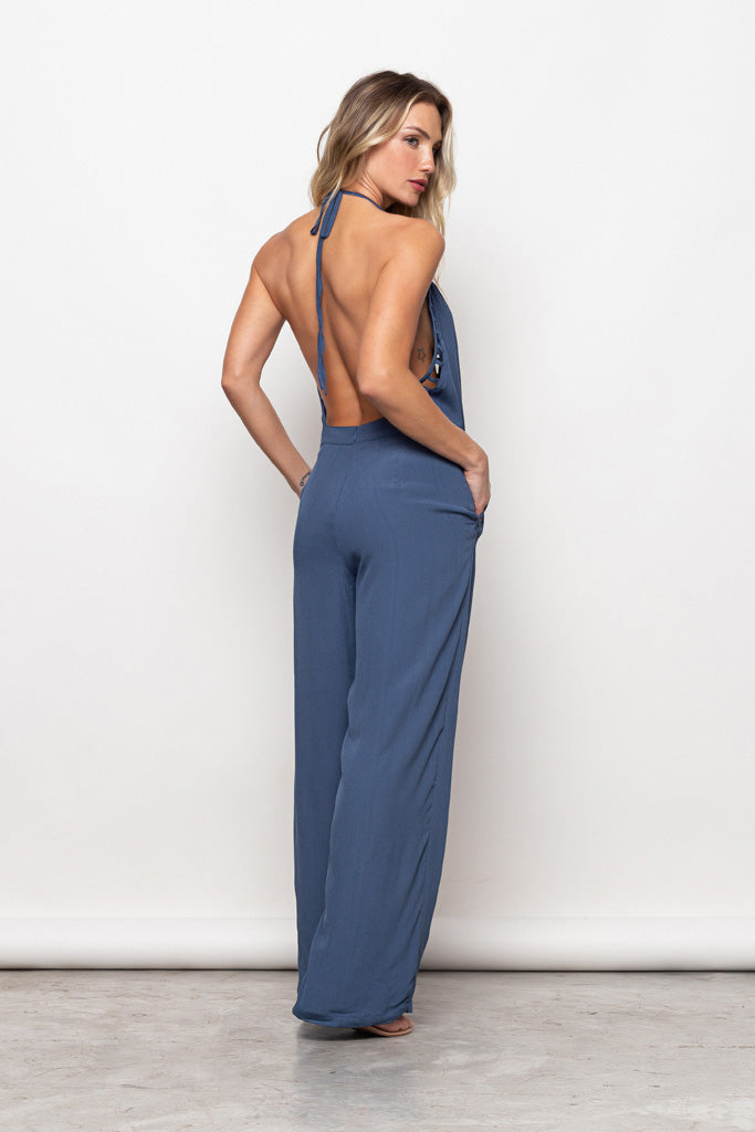 Long Jumpsuit Victória Blue Ocean