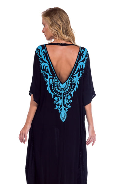 Long Caftan Kalita Black