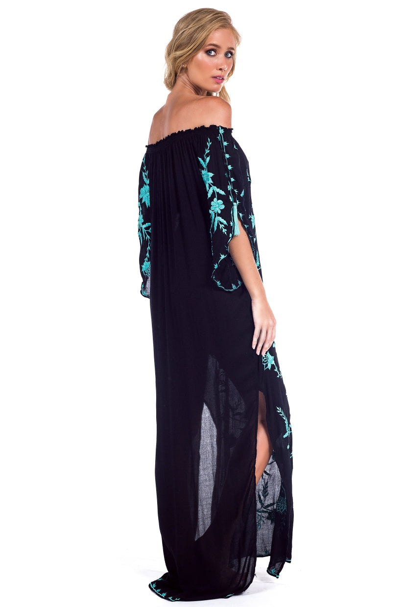 Long Dress Amália Black
