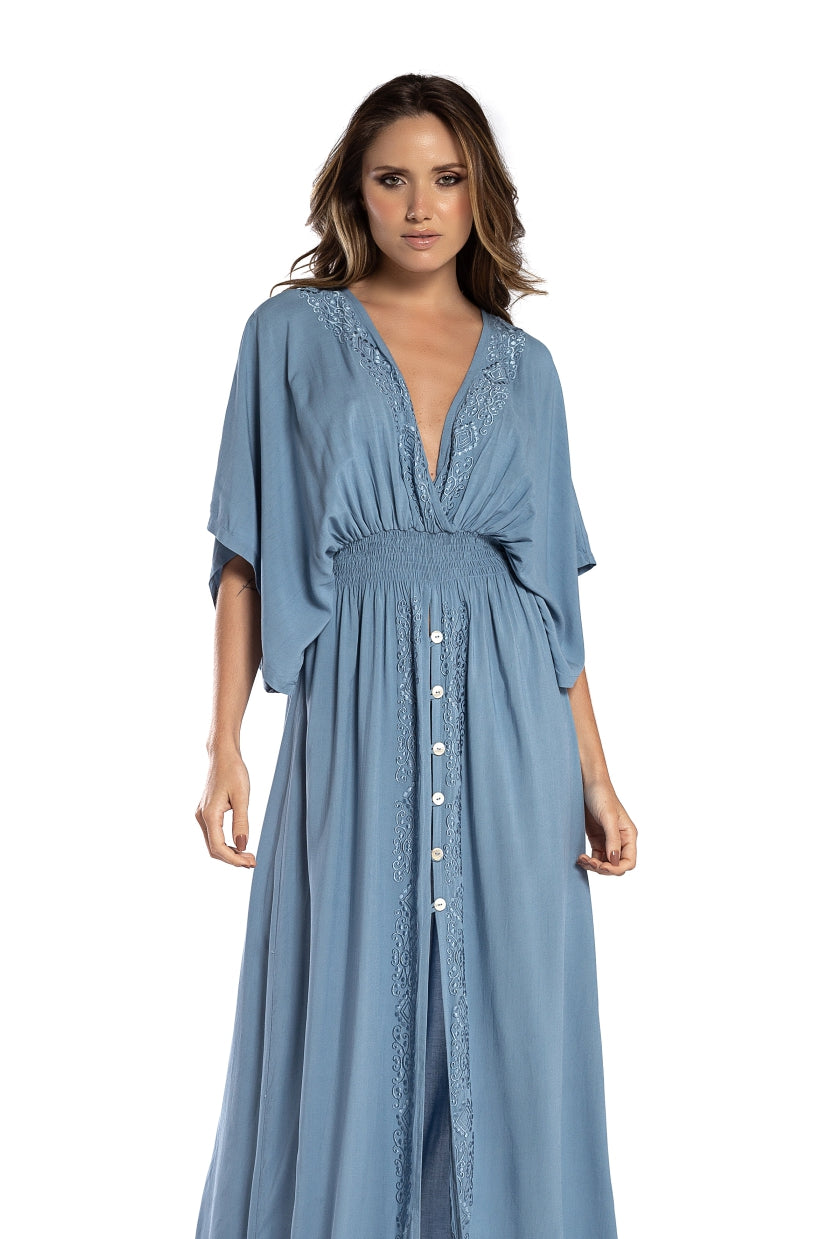 Long Dress Lindsay Light Blue