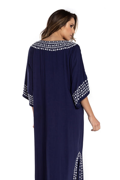 Long Dress Marrakech Navy