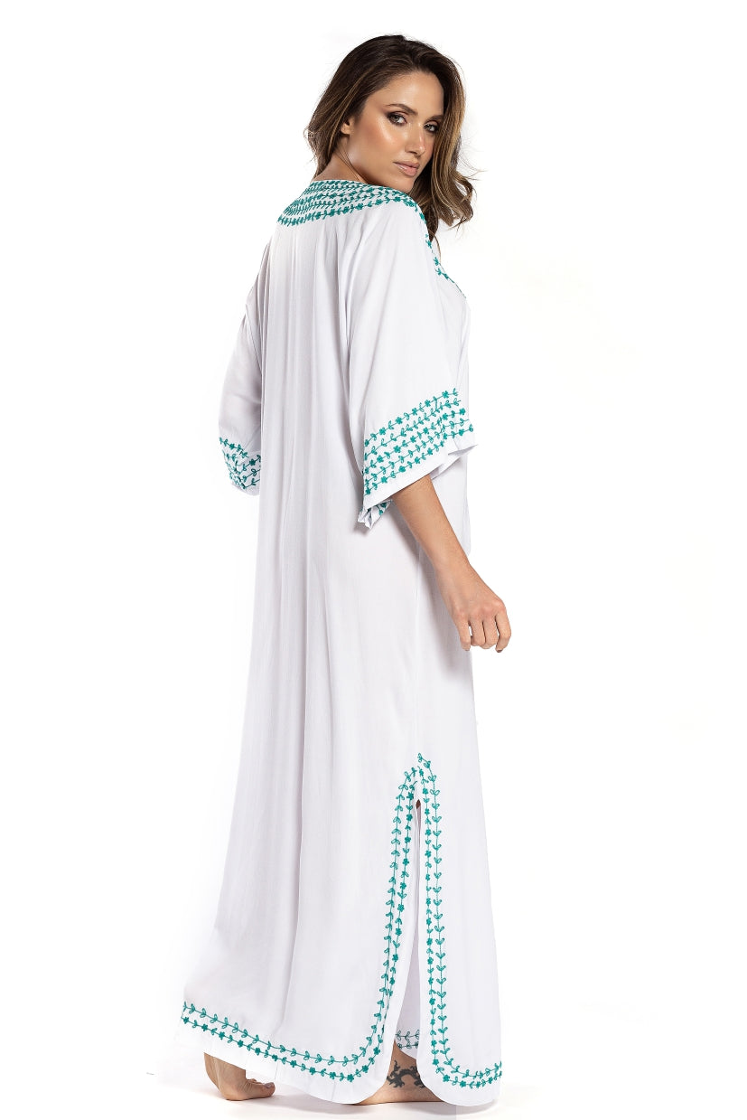 Long Dress Marrakech White