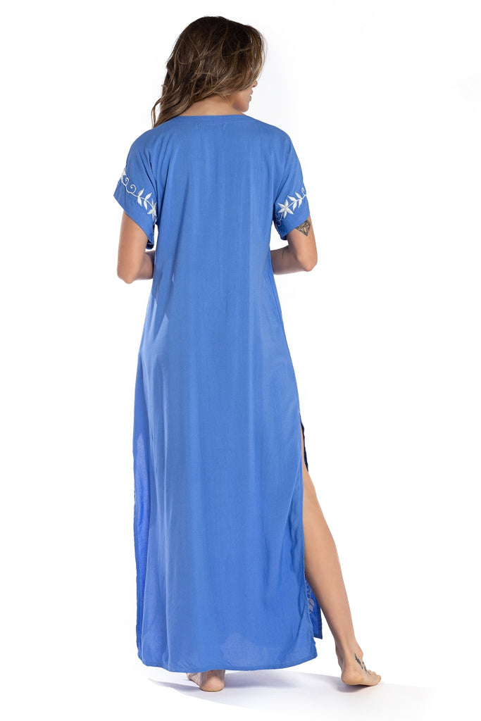 Long Dress Istambul Blue