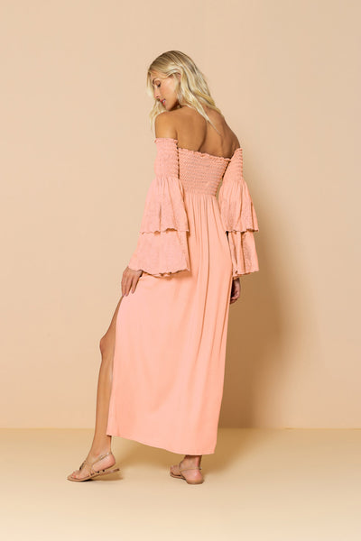 Long Dress Valentina Coral Living