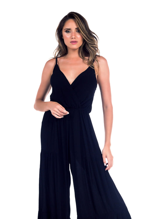 Long Jumpsuit Gigi Black