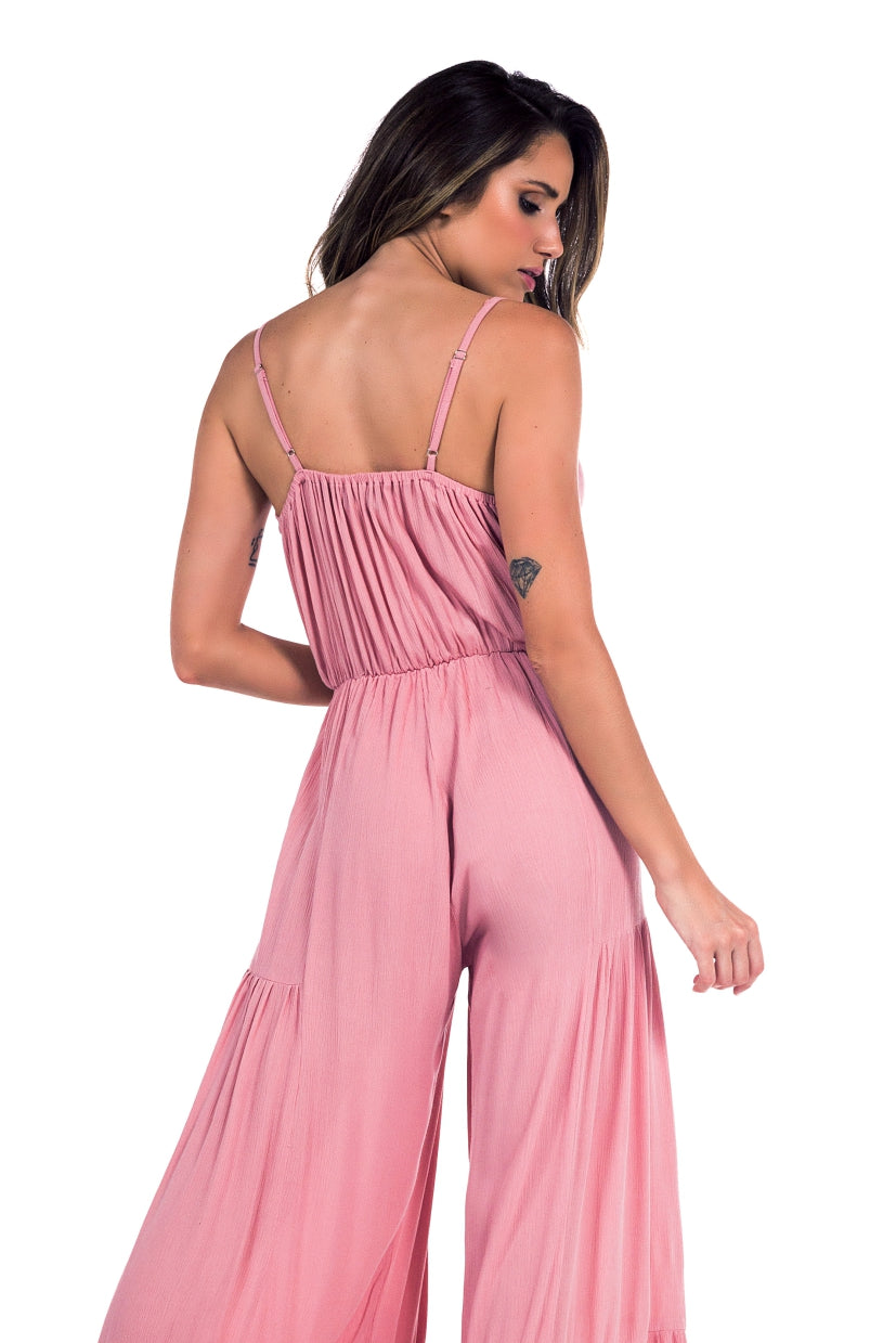 Long Jumpsuit Gigi Old Pink