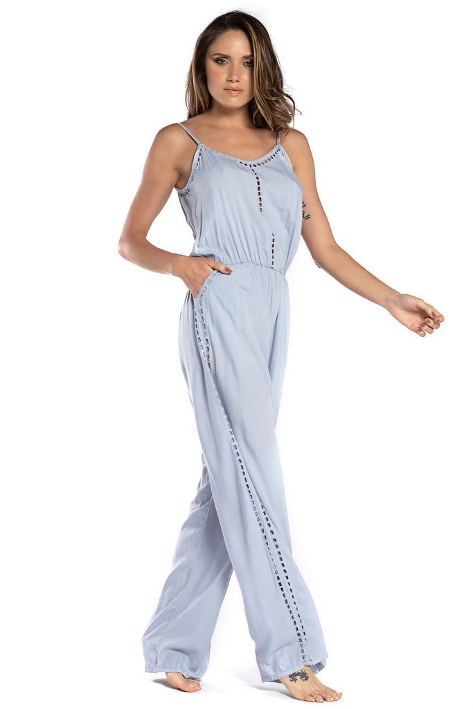 Long Jumpsuit Sophie Blue Ice