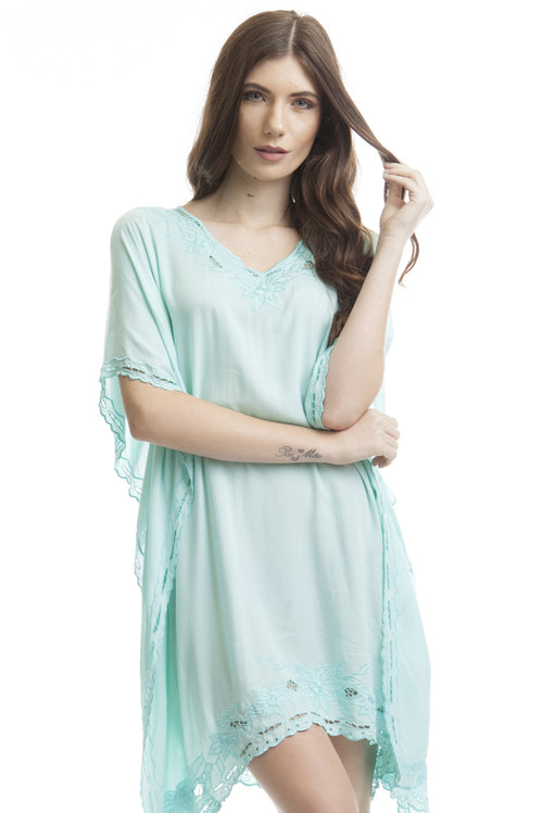 Caftan Santa Mônica Light Green