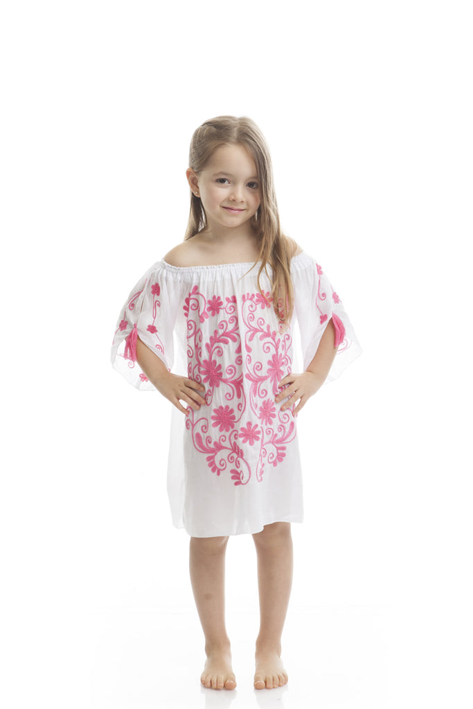 Summerlove Kids White Pink
