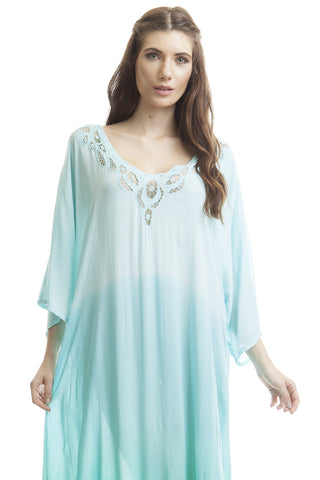 Caftan Krawang New Blue Ice
