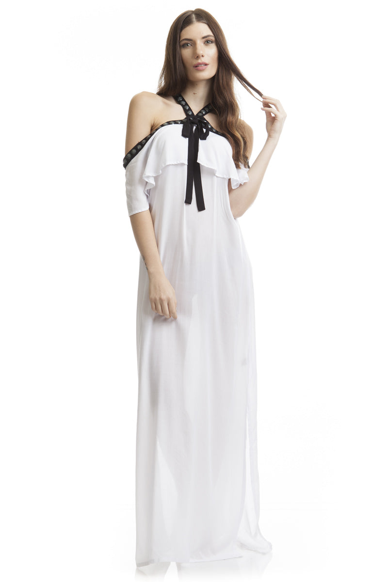 Long Dress Venice White