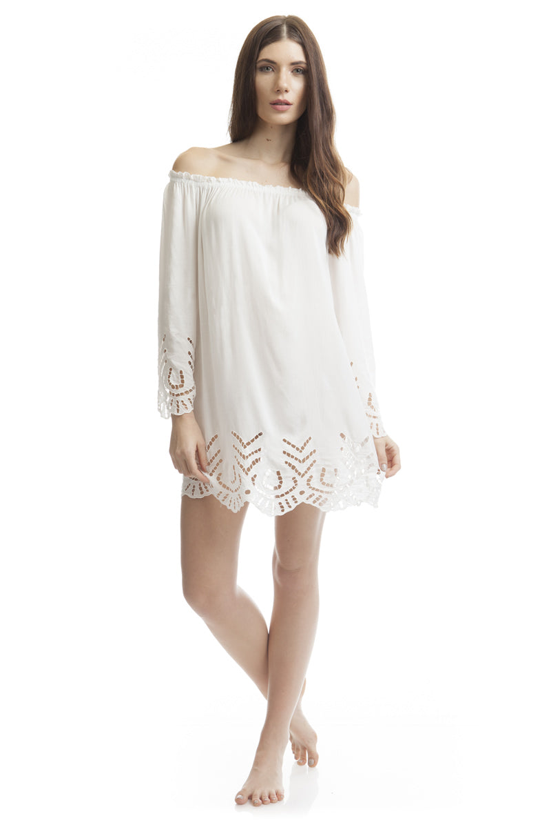Dress Victoria Offwhite