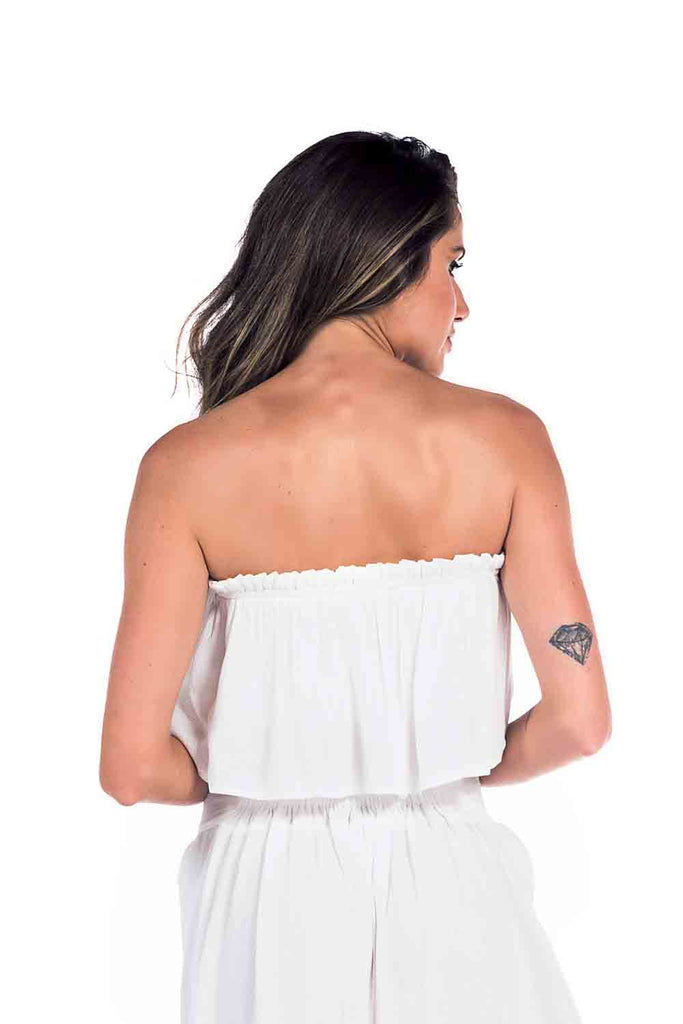 Top Francesca Off White