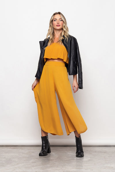 Pant Francesca Dark Yellow