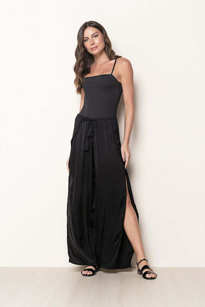 Pant Giulia Satin Black