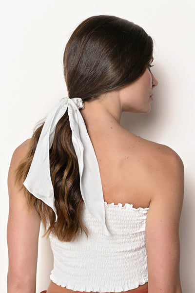 Scrunchies Linho Off White