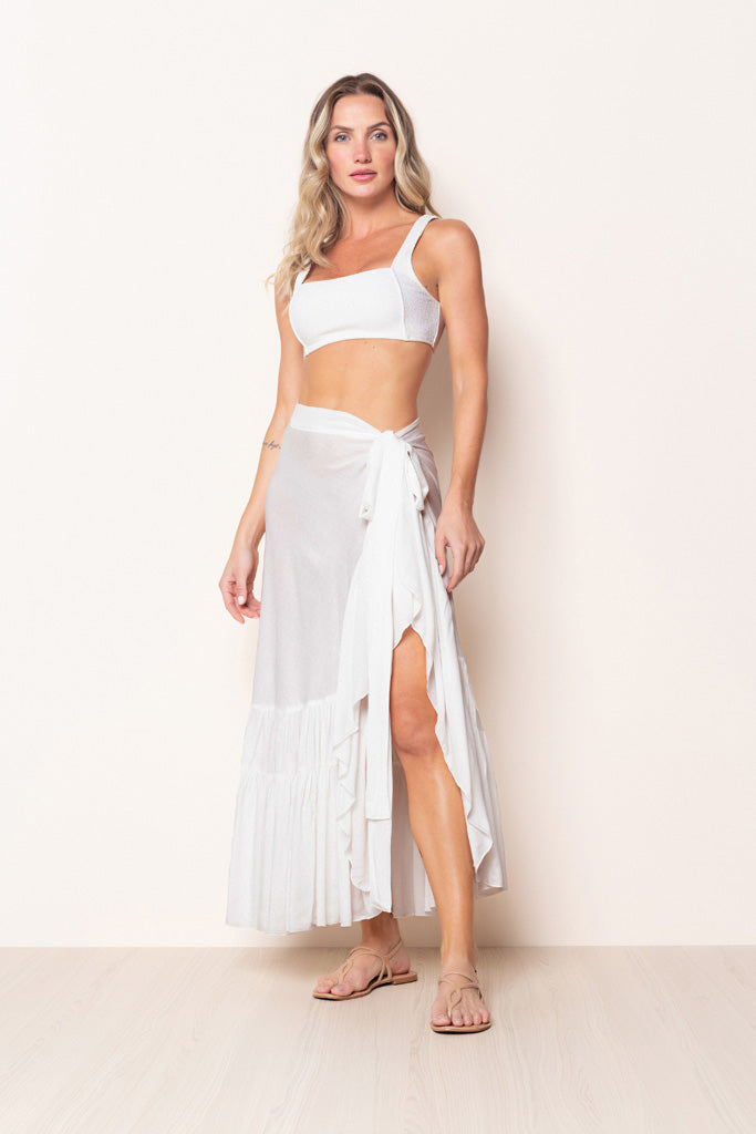 Skirt Lavínia Off White